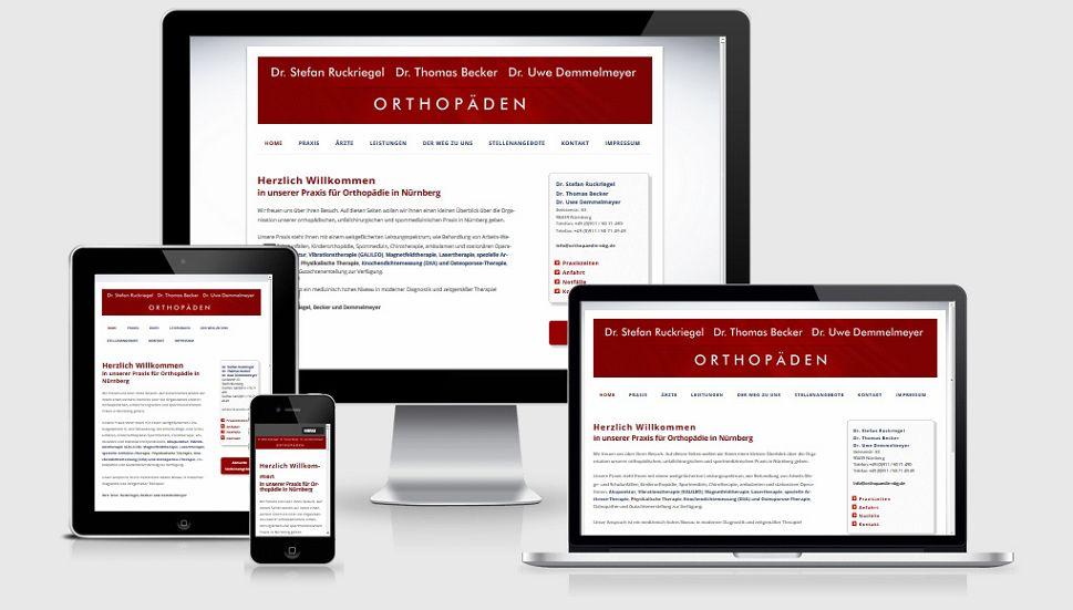 Orthopädie Dres. Ruckriegel, Becker und Demmelmeyer in Nürnberg